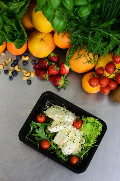 Catering dietetyczny fotografia