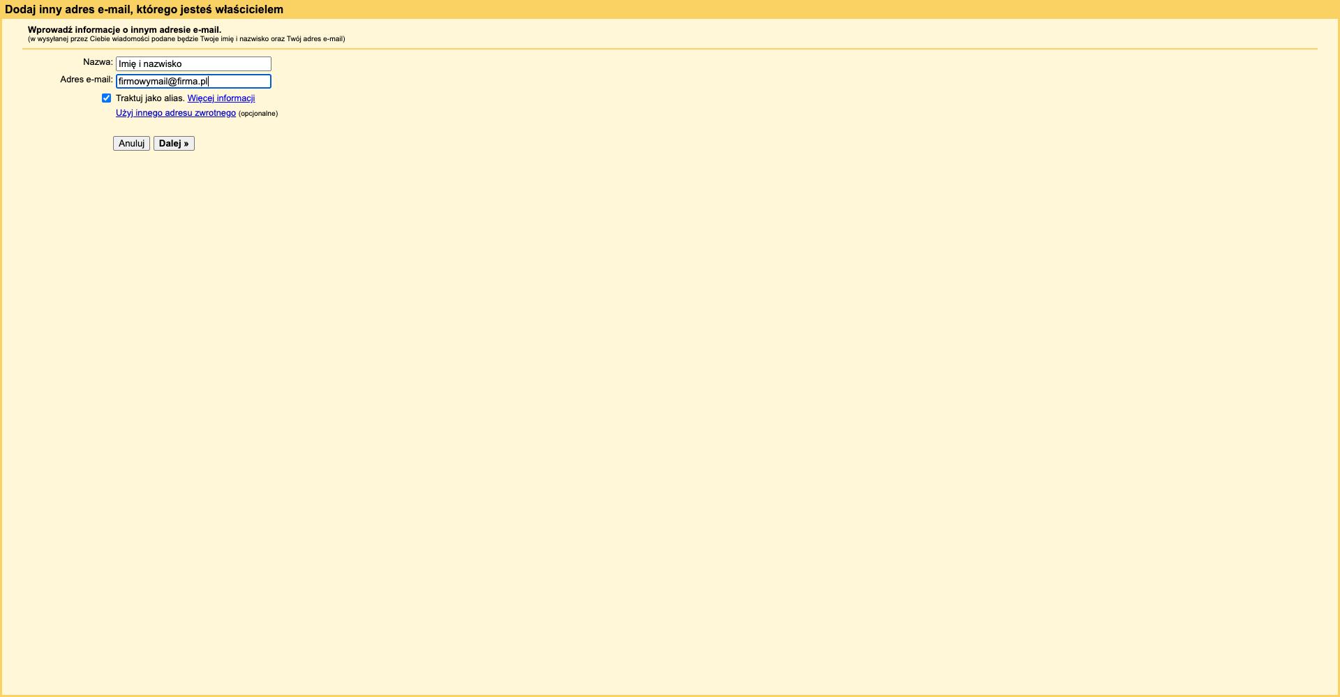 gmail – firmowy mail